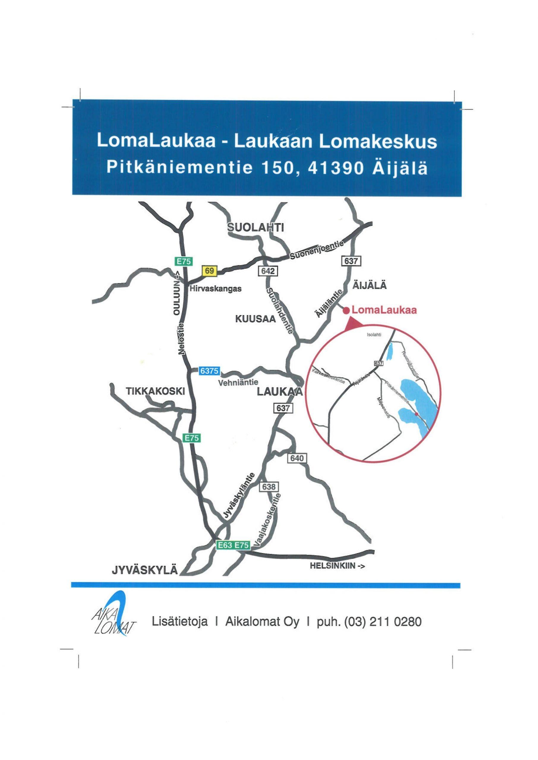 LomaLaukaa_Kartta